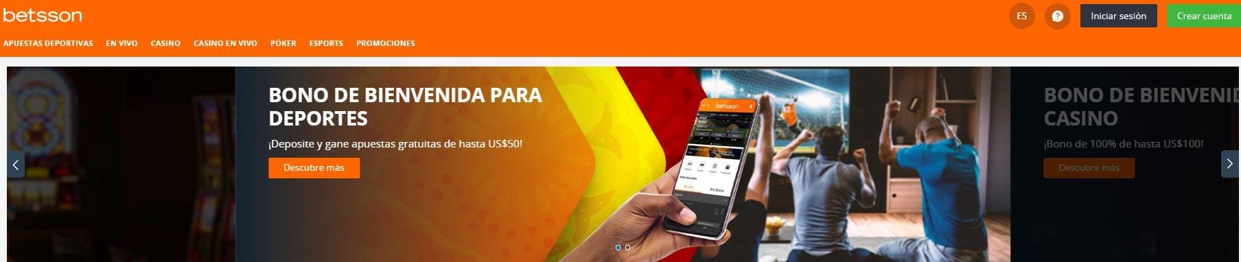 Betsson casino online en Uruguay
